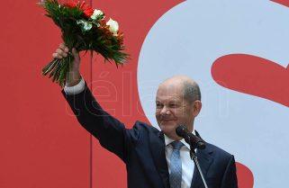 Acuerdo preliminar para formar Gobierno entre socialdemócratas, verdes y liberales