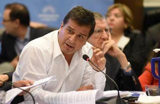 """Casaretto afirmó que se encuentran """"analizando las 4.874 páginas"""" del Presupuesto 2022"""