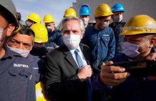 Con la CGT, Fernández presenta el proyecto de Comités de Seguridad en el Trabajo