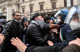 """El Gobierno """"está reflexionando"""" decretar la disolución del partido neofascista Forza Nuova"""