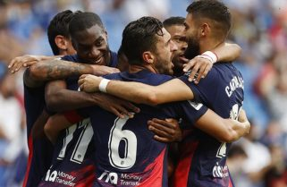 """Ganó el Atlético Madrid del """"Cholo"""" Simeone y comparte la punta con Real Madrid y Valencia"""