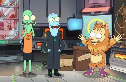 """Llegó """"Solar Opposites"""", una serie animada sobre alienígenas que viajan a Estados Unidos"""