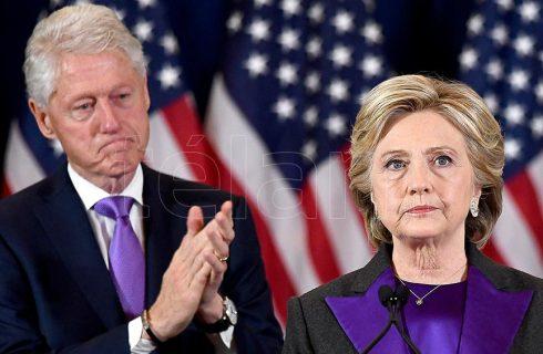 Luego de estar internado cinco días, Bill Clinton dejó el hospital del brazo de Hillary