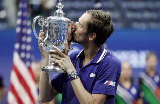 Medvedev le puso un freno a Djokovic: ganó el US Open y le impidió lograr dos récords