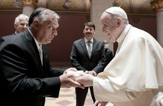 """Tras reunirse con Orban en Budapest, el Papa pidió """"apagar la mecha"""" del antisemitismo en Europa"""