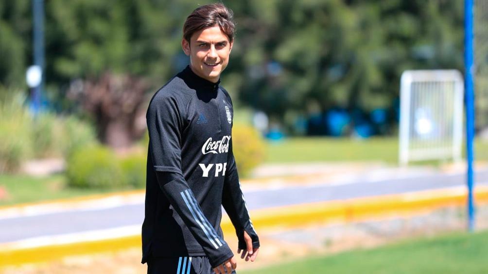 Dybala disputó 29 partidos y marcó 2 goles en el seleccionado argentino.