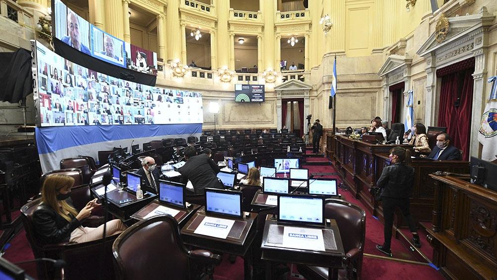 Se tratará durante la sesión una iniciativa que llega en revisión desde Diputados, que apunta al sostenimiento de la actividad económica en el marco de la pandemia.