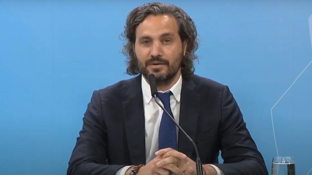 """""""Tenemos pensado hacer la jura del nuevo ministro de Desarrollo Territorial y Hábitat"""", completó Cafiero."""