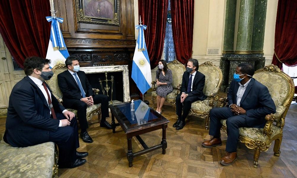 Reunión de Massa con funcionario del FMI con Covid-19 positivo